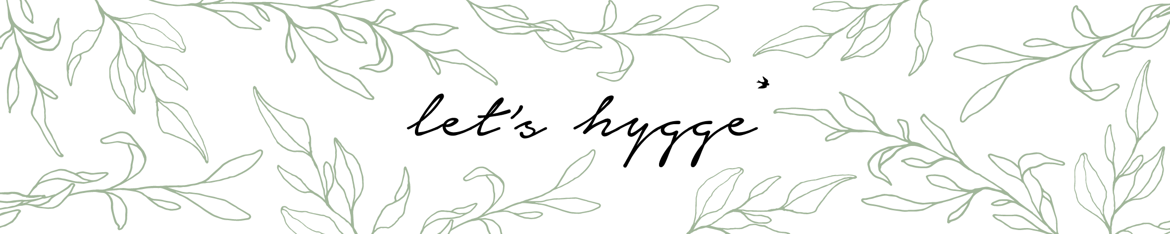 Let's hygge green branches JOURNAL